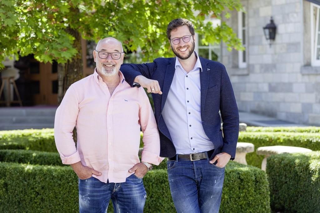 Firmengründer Hermann Schoch (links) mit Sohn und Geschäftsführer Marcel Schoch