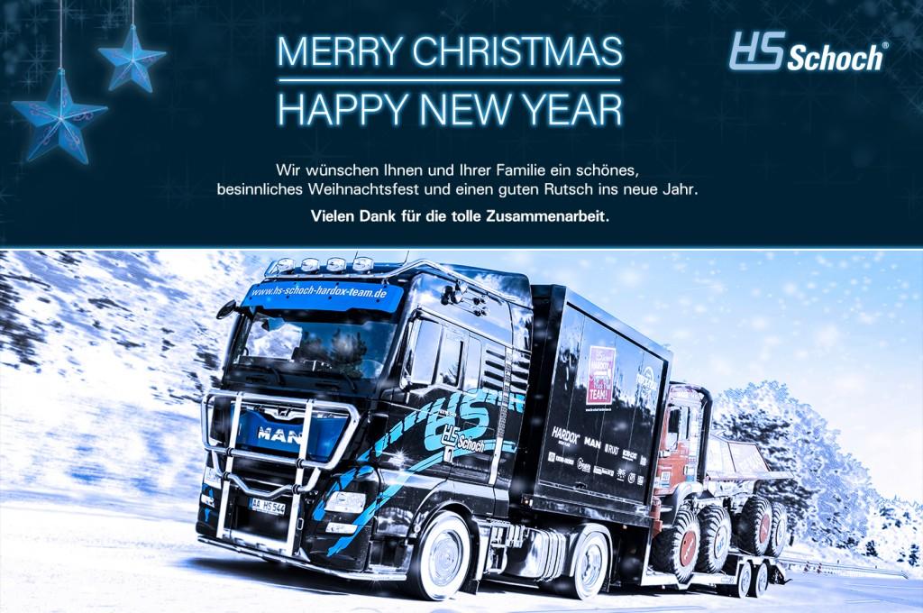 HS-Schoch wünscht frohe Weihnachten_LKW